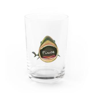 つよいサメ Water Glass