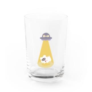 UFO・テディ轟 Water Glass