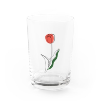 tulip. Water Glass