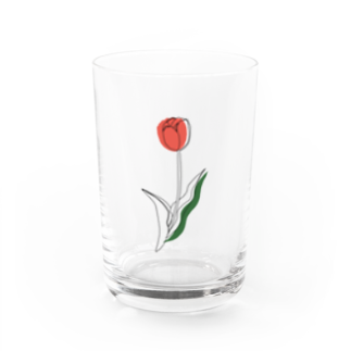 onniのtulip. Water Glass