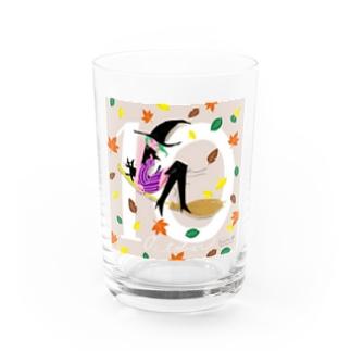 10月生まれの大人な魔女子さん Water Glass