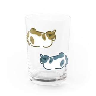 neko-neko Water Glass