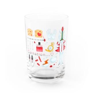 グラス-carnation- Water Glass