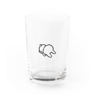どせいのわっかのごめんねうさぎ Water Glass