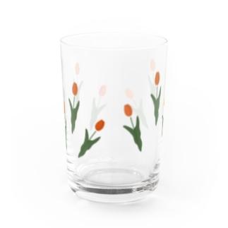 tulip Water Glass
