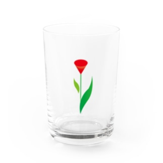 pazooのFlower01 Water Glass