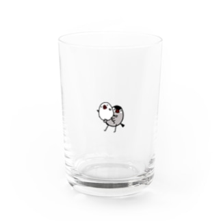 組体操文鳥 Water Glass