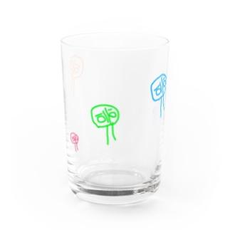 へちょ絵 Water Glass