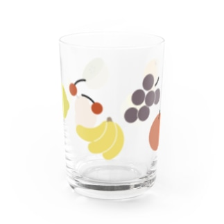 fruits Water Glass