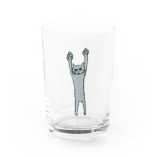 NEKOGATU Water Glass