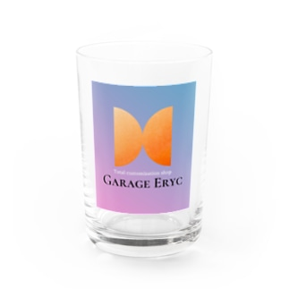 Garage Erycオリジナルグッズ Water Glass