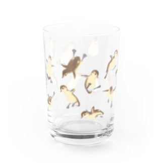 jumping duckling Water Glass
