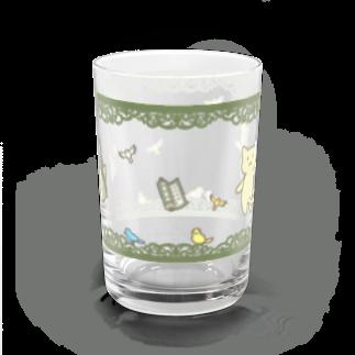 PygmyCat suzuri店の仏にゃんグラス Water Glass