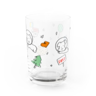 space Water Glass
