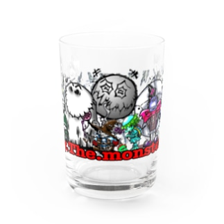 toy.the.monsters!のToy.The.monster's  Water Glass