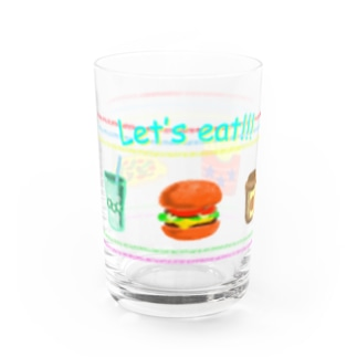 Let's eat!!! Water Glass