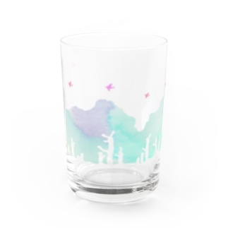 forest 6:00.a.m. Water Glass