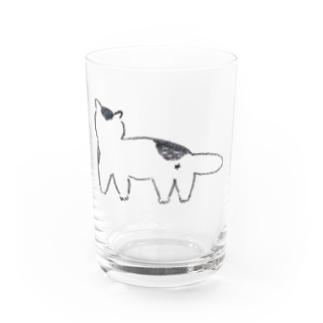 ブチネコ Water Glass
