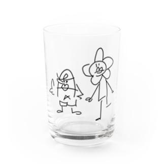 ゆび刑事とはなのようせい Water Glass