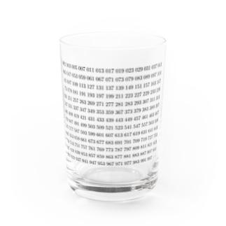1~1000までの素数 Water Glass