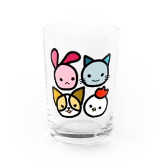 TEAMメスガキ Water Glass