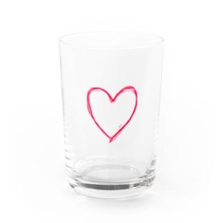 LOVE Heart♡ Water Glass