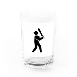 野球 Water Glass