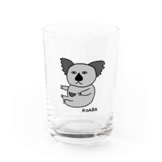 コアラG(下手な絵) Water Glass