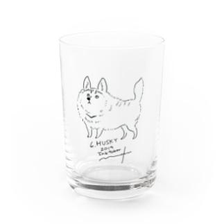 husky Water Glass