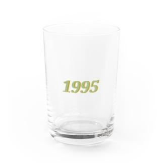 1995(green) Water Glass