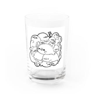 ツメツメアザラシ Water Glass
