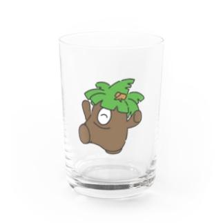 わーい!テバヤシくん! Water Glass