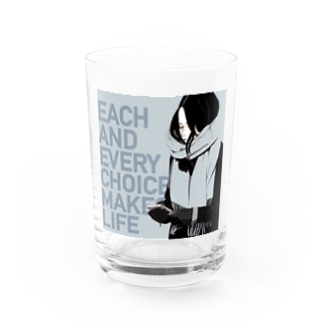 マフラーgirl Water Glass