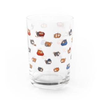 コロタ と てんすけ いっぱい グラス Water Glass