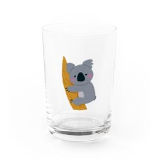 オーストラリアのコアラを助けよう!募金 Water Glass