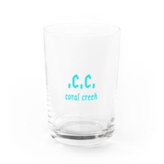 コーラルクリークオリジナルグッズ Water Glass