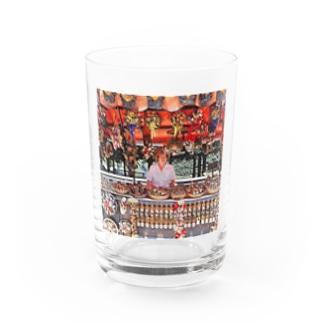 CG絵画:土産物店 CG art: Souvenier shop Water Glass