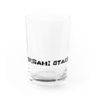 ORIGAMI OTAKU 黒文字 Water Glass