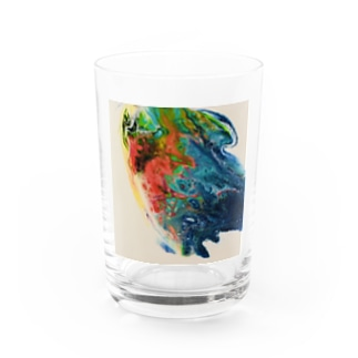 TropicalBird Water Glass