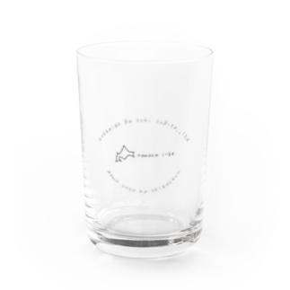 なまらいいべ Water Glass