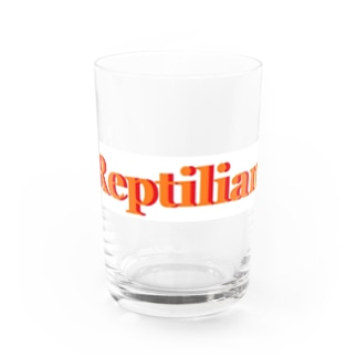 Reptilian ヒト型爬虫類 グッズ Water Glass