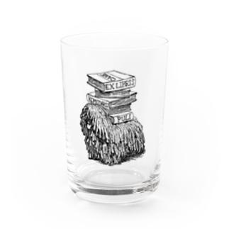 プーリー蔵書票 Water Glass