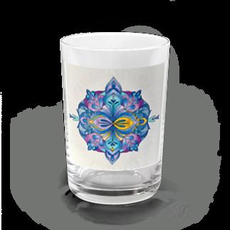 saiko-ruiのマンダラR・BLUE Water Glass