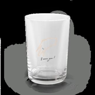ciboのI love you Water Glass
