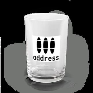 アメリカンベースのアドレス Water Glass