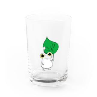 擬態するカエル Water Glass