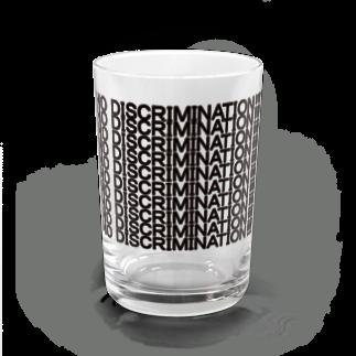 ヒラエイのNO DISCRIMINATION Water Glass