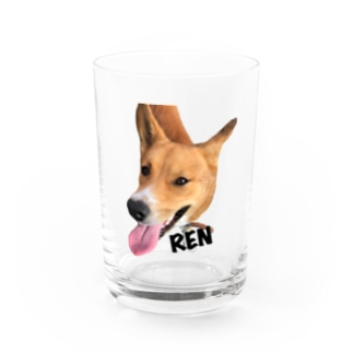 紀州犬 REN Water Glass
