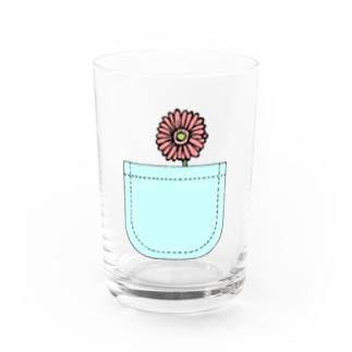 心に花を💐 Water Glass