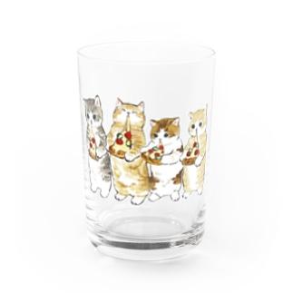 みよーんピザ Water Glass